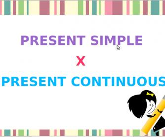 Present Simple vs Present Continuous Presentation