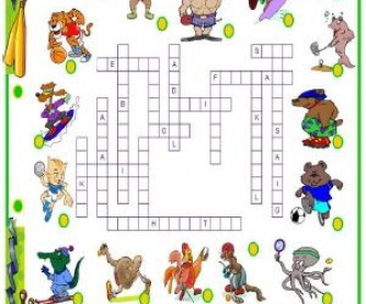 Sports Crossword