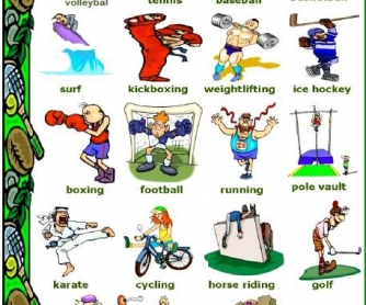 Sports Picture Dictionary