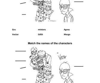 Movie Worksheet: Despicable Me