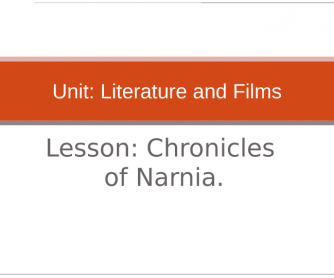 Movie Worksheet :Chronicles of Narnia ( Trailer and PPT)