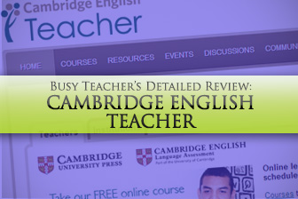 Cambridgeenglishteacher.org: BusyTeacher's Detailed Review