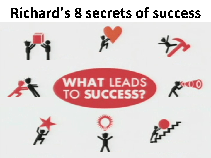 Movie Worksheet: 8 Secrets of Success (with PPT)
