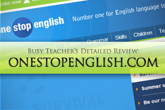 Onestopenglish.com: BusyTeacher's Detailed Review