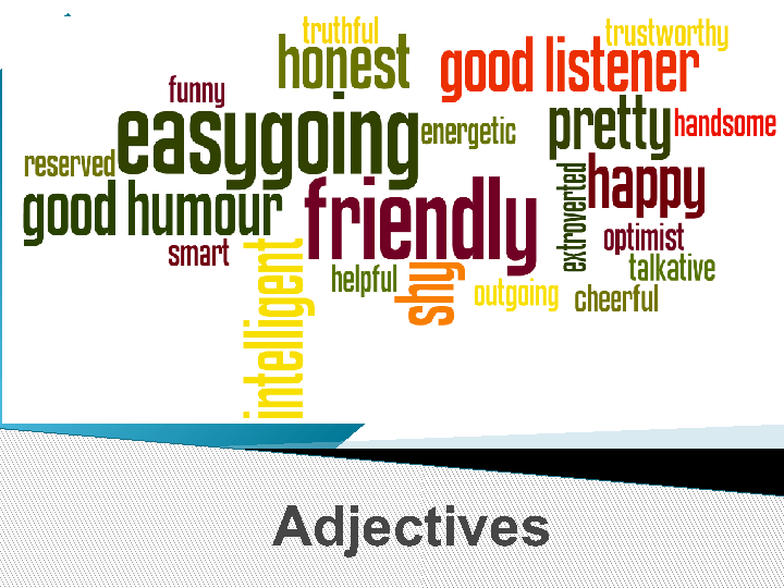 Describing People and Food PPT