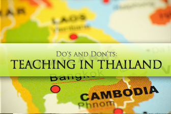 Teaching in Thailand: Do's and Don'ts