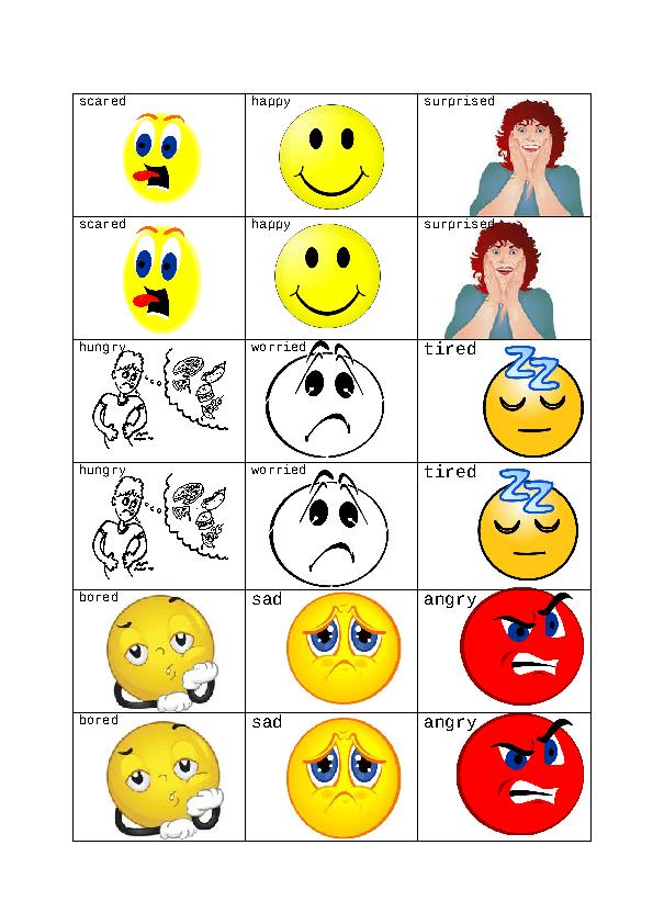 Feelings Matching Game