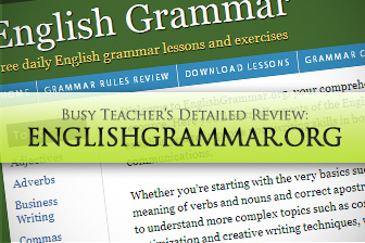 Englishgrammar.org: BusyTeacher's Detailed Review