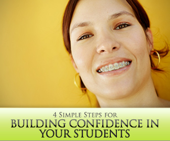 4 Simple Steps for Building Confidence in Your Students