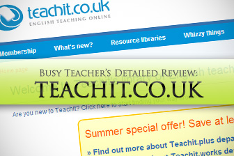 Teachit.co.uk: BusyTeacher's Detailed Review
