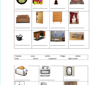 Common House Objects