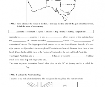 Australia Day Reading