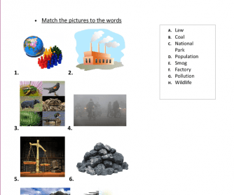 Movie Worksheet: Environment in Britain