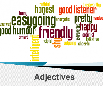 Adjectives - Describing People and Food PPT