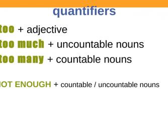 PPT Quantifiers