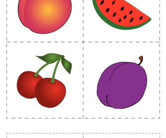 Flashcards: Fruit (1)