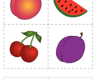 Flashcards: Fruit (1)