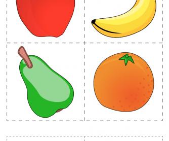Flashcards: Fruit (3)