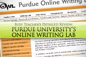 Purdue University's Online Writing Lab: BusyTeacher's Detailed Review