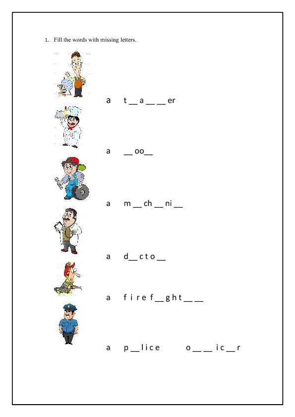 Answer Fill In The Blank With Short Vowels A E I O U in addition S furthermore Letter F Is For Flower Handwriting Practice Worksheet Puzzle Game moreover Long Vowel Missing Letter further Fill The Words With Missing Letters. on missing letter worksheets