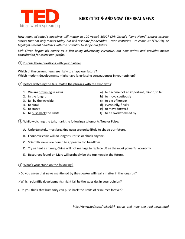 Printable Worksheets drama vocabulary worksheets : 56 FREE Mass-media Worksheets