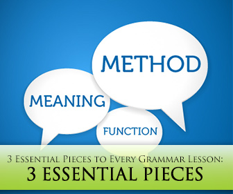Have You Got It? 3 Essential Pieces to Every Grammar Lesson