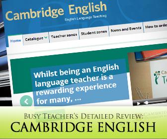 Cambridge English: BusyTeacher's Detailed Review