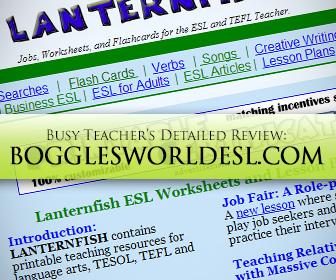 Bogglesworldesl.com: BusyTeacher's Detailed Review