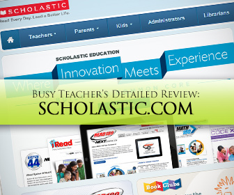 Scholastic.com: BusyTeacher's Detailed Review