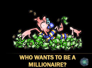 wants to be a millionaire: past simple, Powerpoint templates