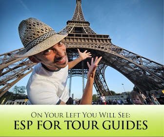 On Your Left You Will See…: ESP for Tour Guides