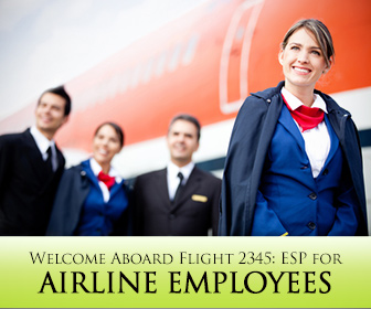 Welcome Aboard Flight 2345: ESP for Airline Employees