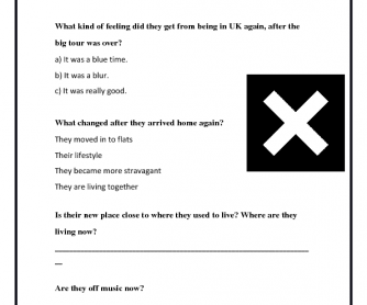 Movie Worksheet: the XX Interview