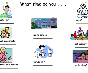 What Time Do You . . .?