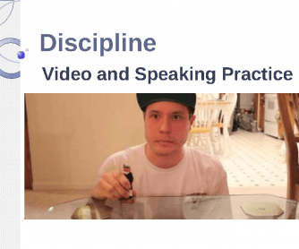 Movie Worksheet: Funny Discipline PPT+ Short Video