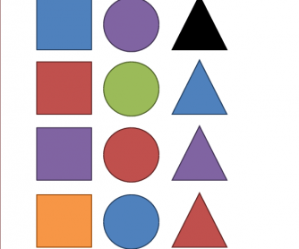 Colors and Shapes Search