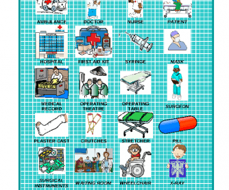 Hospital Vocabulary 1