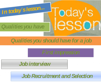 Job Interview/Recruitment and Selection (PPT)