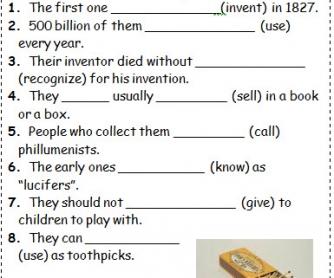 Passive: Inventions Pairwork