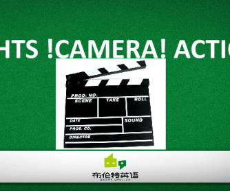 Lights!Camera!Action!PPT