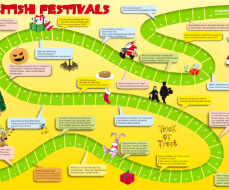 British Festivals- a Board Game