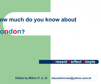 Present Perfect Simple - Since and For