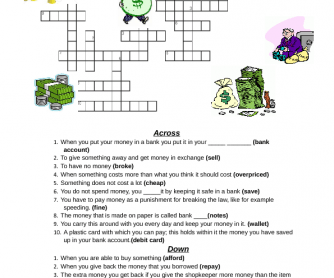 Money Crossword