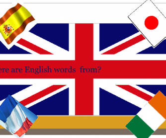 Where Do English Words Come From?