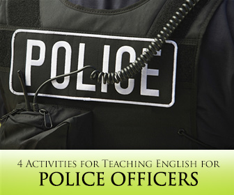 """How Do You Say ""Help!"" in English?"" 4 Activities for Teaching English for Police Officers"