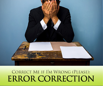 Correct Me if I'm Wrong (Please): Error Correction in ESL Writing and Speech (Part 2)