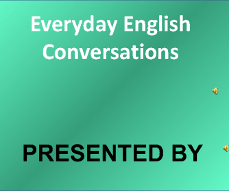 Everyday English - Greetings