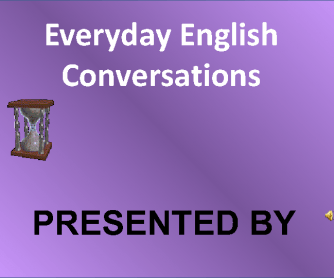 Everyday English - Telling Time