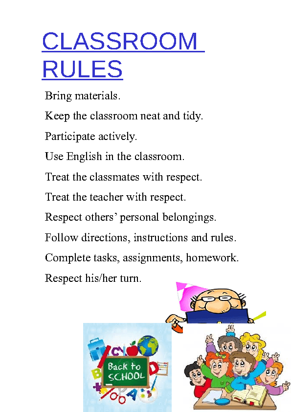 Worksheets Classroom Rules Worksheet rules classroom rules