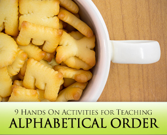 As Easy as ABC: 9 Hands On Activities for Teaching Alphabetical Order
